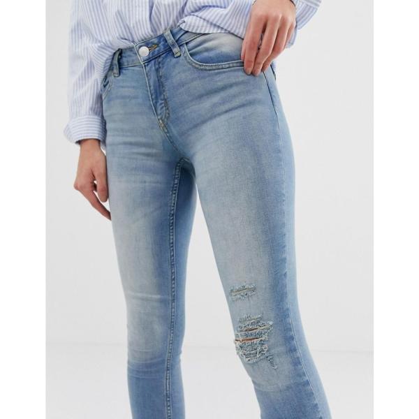 ジェイディーワイ JDY レディース ジーンズ・デニム ボトムス・パンツ Flora ripped skinny jeans Blue|fermart|03