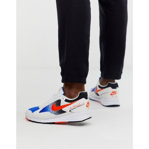 ナイキ Nike メンズ スニーカー シューズ・靴 Air Skylon II trainers in orange Orange|fermart