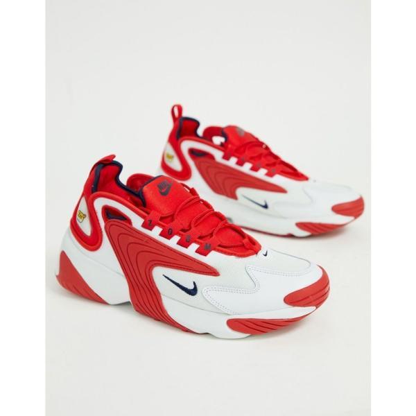ナイキ Nike メンズ スニーカー シューズ・靴 Zoom 2K trainers in Red Red|fermart