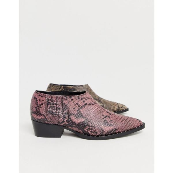ゲタス Gestuz レディース ブーツ シューズ・靴 Shayton multi snakeskin shoe boots Snake