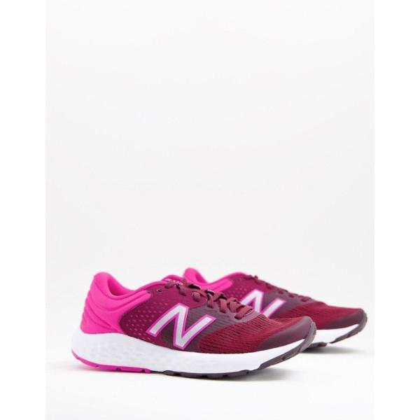 ニューバランス New Balance レディース ランニング・ウォーキング シューズ・靴 Running 520 V7 trainers in pink ピンク