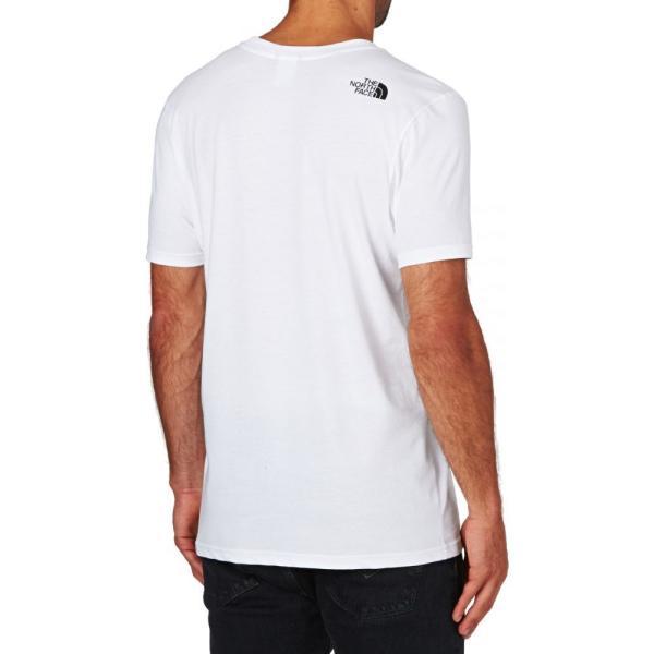 ザ ノースフェイス The North Face メンズ Tシャツ トップス North Face Simple Dome Short Sleeve T-Shirt White|fermart|02