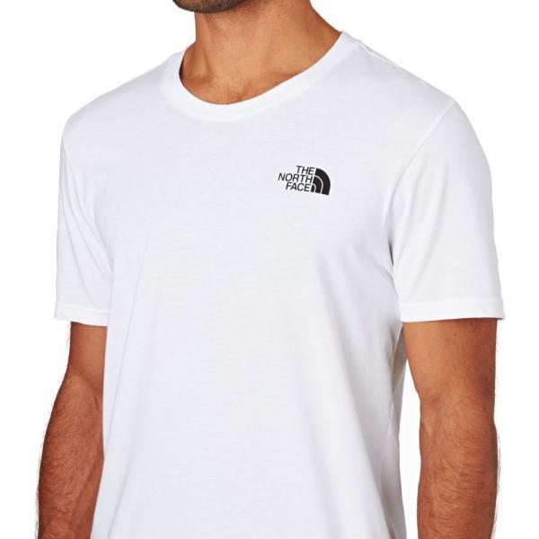 ザ ノースフェイス The North Face メンズ Tシャツ トップス North Face Simple Dome Short Sleeve T-Shirt White|fermart|03