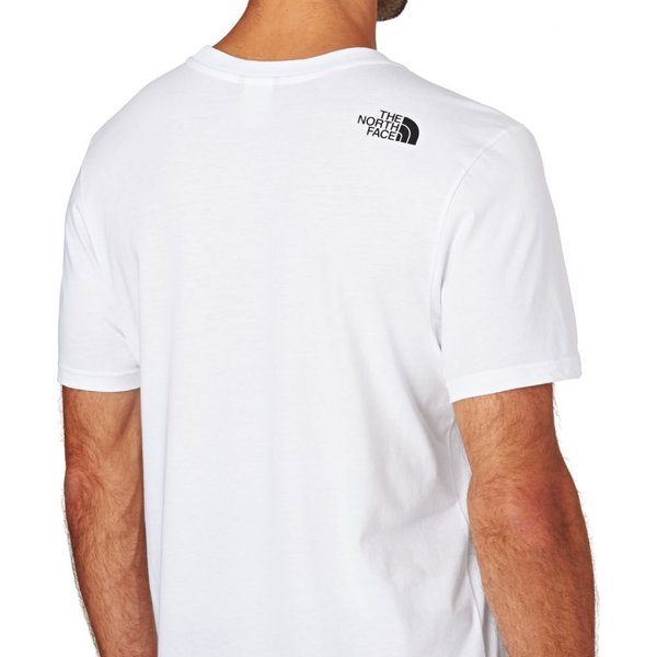 ザ ノースフェイス The North Face メンズ Tシャツ トップス North Face Simple Dome Short Sleeve T-Shirt White|fermart|04