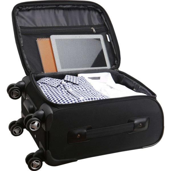 デンコスポーツラッゲージ Denco Sports Luggage メンズ スーツケース・キャリーバッグ バッグ NCAA 20' Domestic Carry-On Spinner