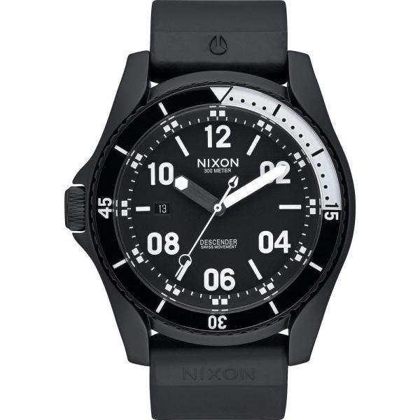 ニクソン Nixon メンズ 腕時計 Descender Sport Watch All Black|fermart