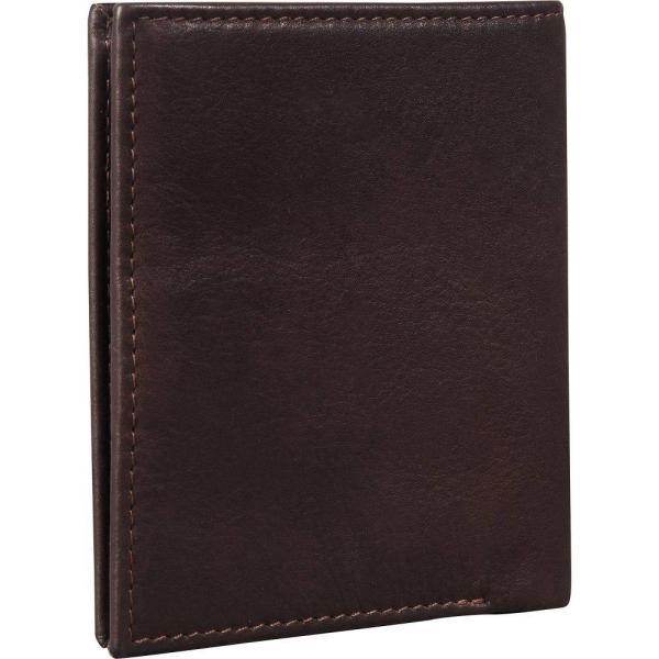ベンシャーマン Ben Sherman Luggage メンズ 財布 二つ折り Hendon Slim RFID Leather Bifold Wallet Dark Brown|fermart|04
