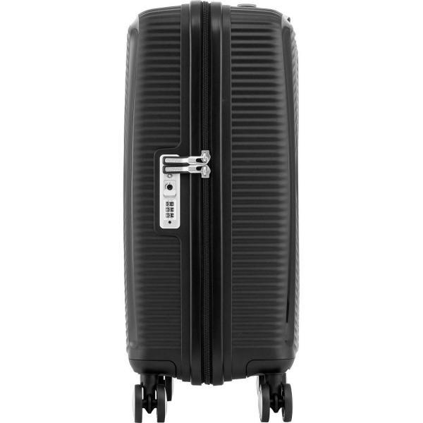 アメリカンツーリスター American Tourister メンズ スーツケース・キャリーバッグ バッグ Curio 20' Hardside Carry-On Spinner Luggage Black