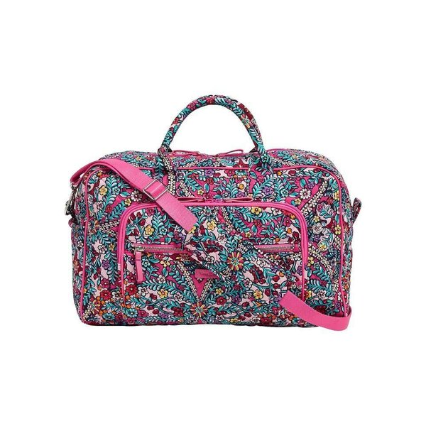 ヴェラ ブラッドリー Vera Bradley レディース ボストンバッグ・ダッフルバッグ バッグ Iconic Compact Weekender Travel Bag Kaleidoscope