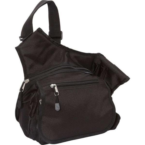 エベレスト デザインズ Everest メンズ メッセンジャーバッグ バッグ Messenger Bag - Medium Black