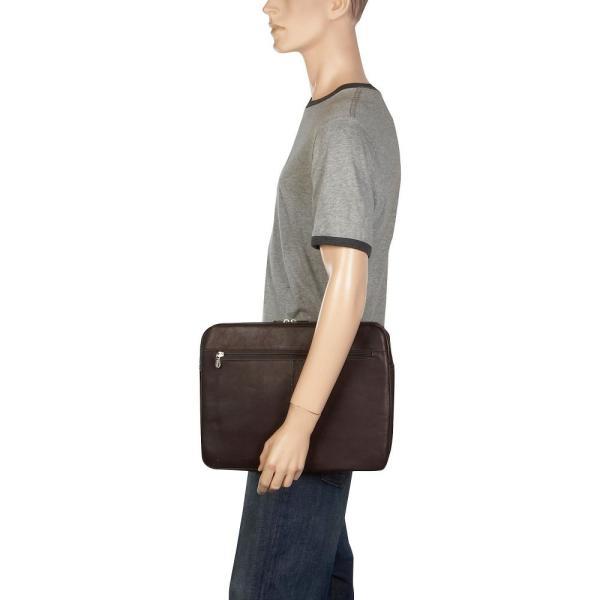 ピエール Piel メンズ パソコンバッグ バッグ 15'Zip Laptop Sleeve Saddle