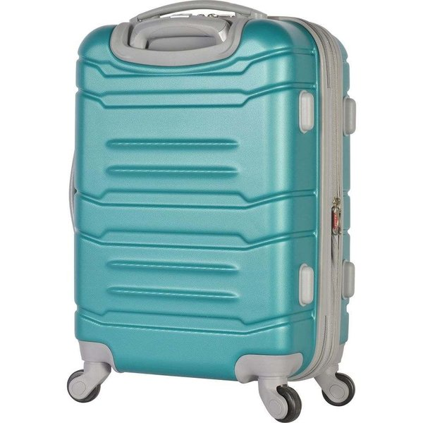 オリンピア Olympia USA メンズ スーツケース・キャリーバッグ バッグ Denmark 3 Piece Expandable Hardside Spinner Luggage Set with Hidden Compartment