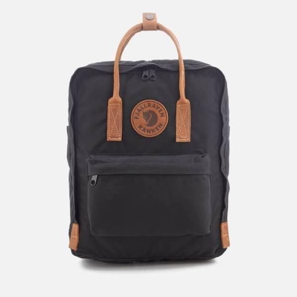 フェールラーベン Fjallraven メンズ バックパック・リュック カンケン バッグ Kanken No.2 Backpack - Black Black
