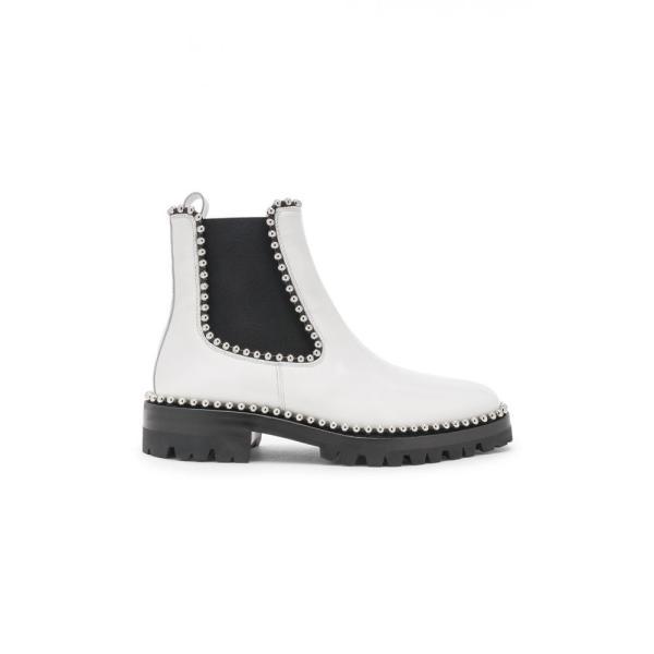 アレキサンダー ワン Alexander Wang レディース ブーツ シューズ・靴 Spencer Spazzalato Boot White