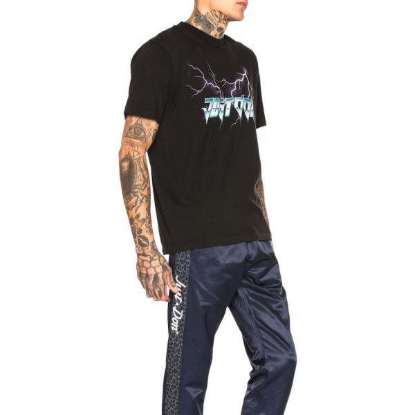 ジャストドン Just Don メンズ Tシャツ トップス Electric Lightning Graphic Tee Black|fermart|02