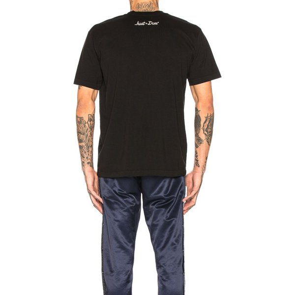 ジャストドン Just Don メンズ Tシャツ トップス Electric Lightning Graphic Tee Black|fermart|03