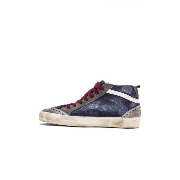 ゴールデン グース Golden Goose レディース スニーカー シューズ・靴 Mid Star Sneakers Navy & White Star