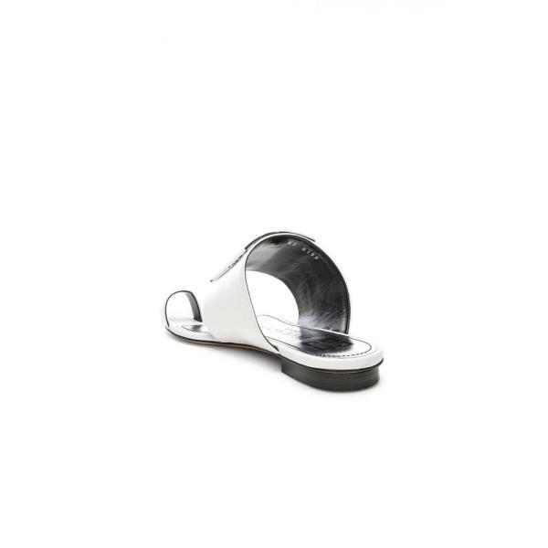 ジバンシー Givenchy レディース サンダル・ミュール シューズ・靴 Logo Flat Sandals White