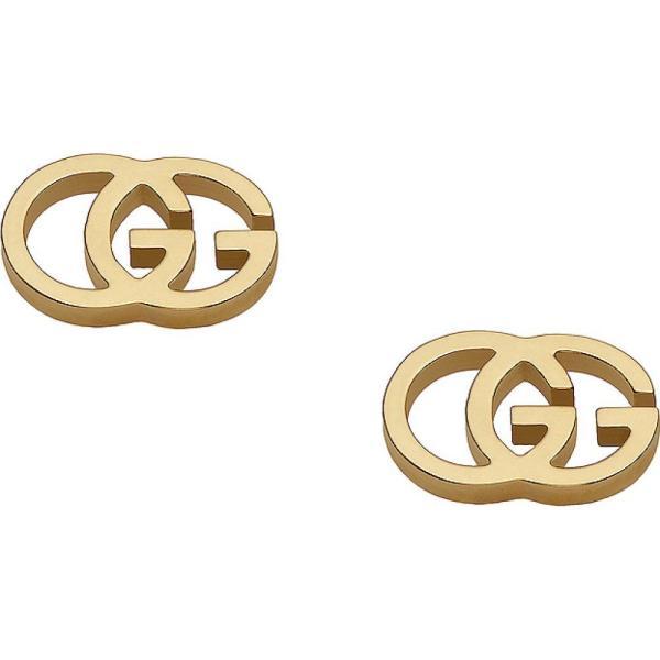 グッチ Gucci レディース イヤリング・ピアス スタッドピアス ジュエリー・アクセサリー Running G Stud Earrings 18KT Yellow Gold