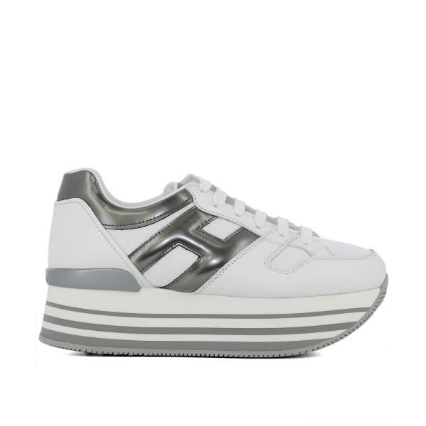 """ホーガン Hogan レディース スニーカー シューズ・靴 """"Maxi"""" sneakers White"""