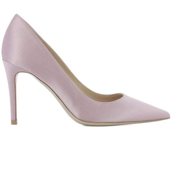 ディミッレ Deimille レディース パンプス シューズ・靴 Pink satin pumps Pink