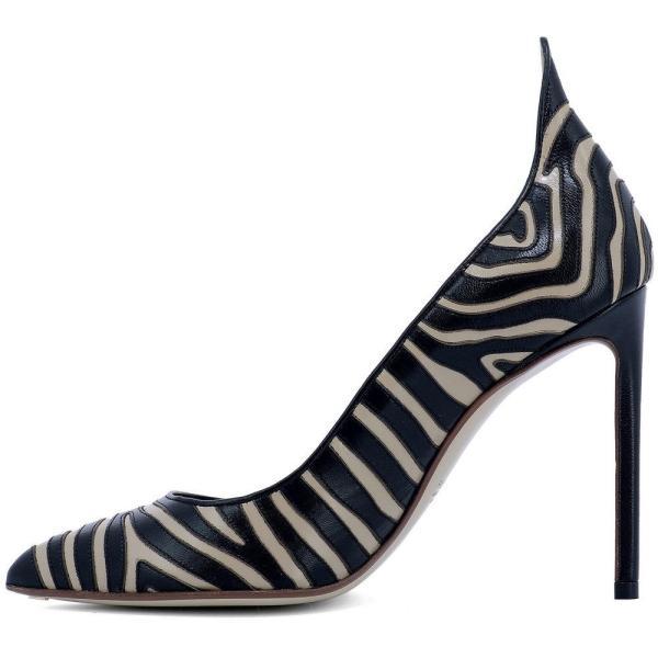 フランセスコルッソ Francesco Russo レディース パンプス シューズ・靴 Multicolor leather pumps Multicolor