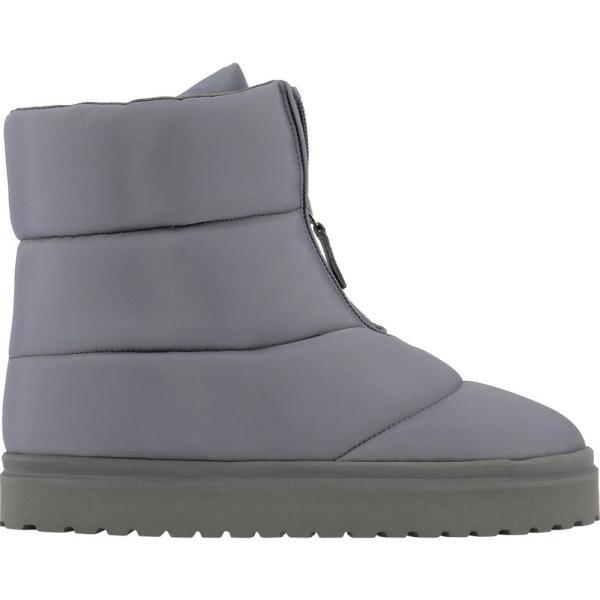 ギア ボルギーニ Gia Borghini レディース ブーツ ショートブーツ スノーブーツ シューズ・靴 Luna snow ankle boots Grey