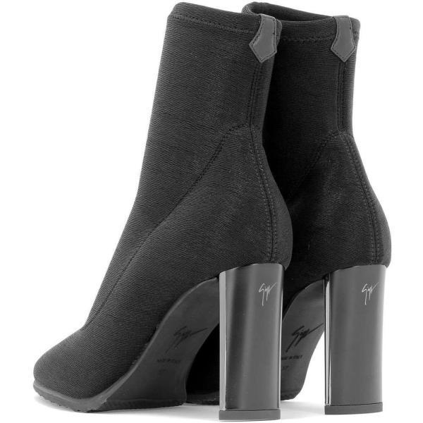 """ジュゼッペ ザノッティ Giuseppe Zanotti レディース ブーツ シューズ・靴 """"Ruggente"""" heeled ankle boots Black"""