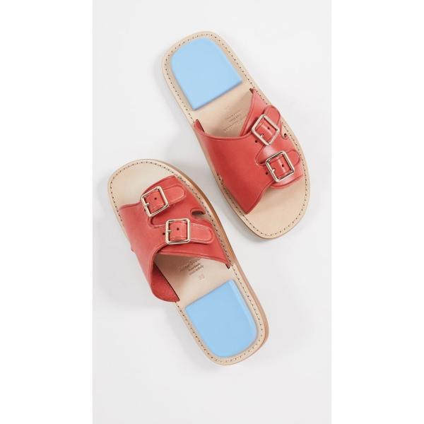 アクネ ストゥディオズ Acne Studios レディース サンダル・ミュール シューズ・靴 Bibbi Slides Red/Blue
