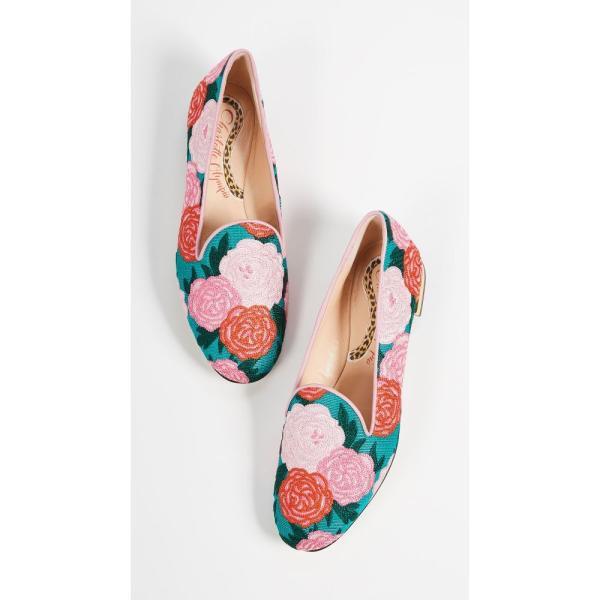 シャーロット オリンピア Charlotte Olympia レディース ローファー・オックスフォード シューズ・靴 Peony Loafers Multi