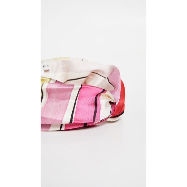 ユージニア キム Eugenia Kim レディース ヘアアクセサリー Malia Headband Pink/Red