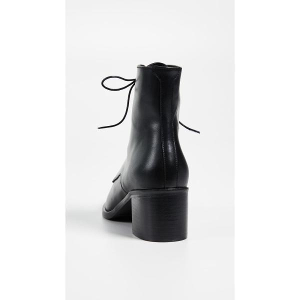フリーダ サルバドール レディース ブーツ シューズ・靴 The Ace Lace Up Booties Black