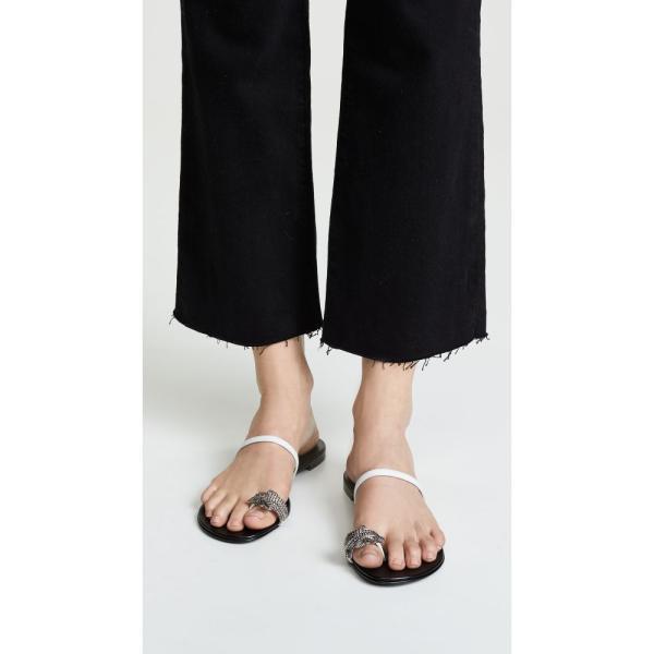ジュゼッペ ザノッティ Giuseppe Zanotti レディース サンダル・ミュール シューズ・靴 NuvOrock 10 Sandals Bianco