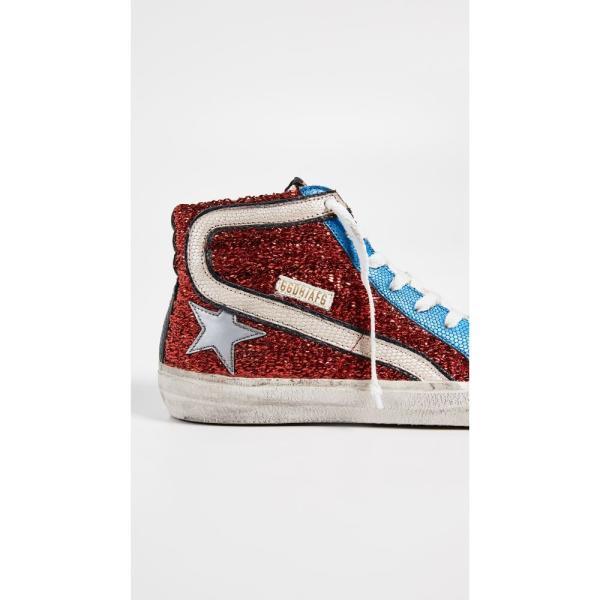 ゴールデン グース Golden Goose レディース スニーカー シューズ・靴 Slide Sneakers Red/Blue/Gold