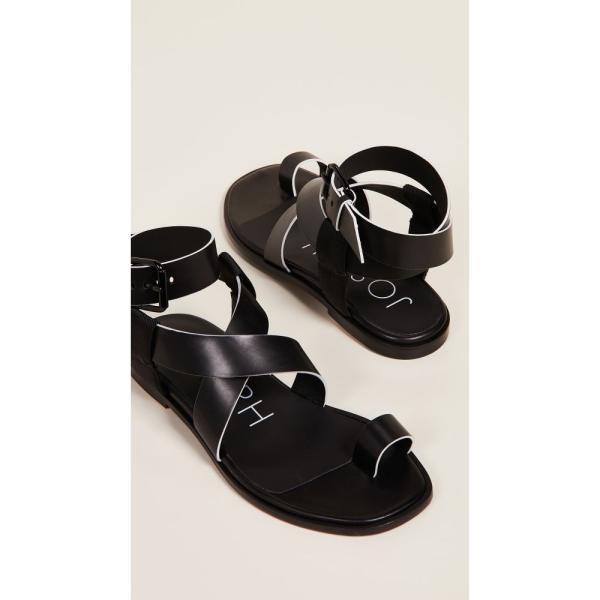 ジョゼフ Joseph レディース サンダル・ミュール シューズ・靴 Trifoglio Sandals Nero