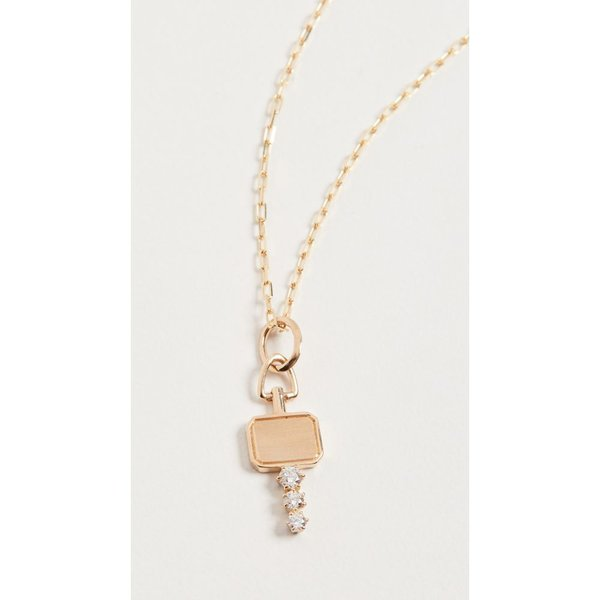 ジェイド トラウ Jade Trau レディース ネックレス チャーム ジュエリー・アクセサリー 18k Mini Catherine Charm Necklace Yellow Gold