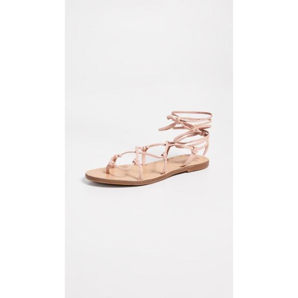 メイドウェル Madewell レディース サンダル・ミュール シューズ・靴 The Boardwalk Lace Up Sandals Peach|fermart