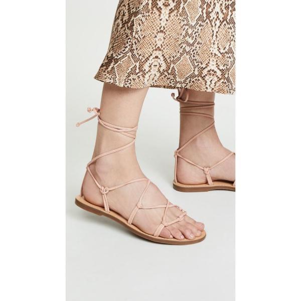 メイドウェル Madewell レディース サンダル・ミュール シューズ・靴 The Boardwalk Lace Up Sandals Peach|fermart|02