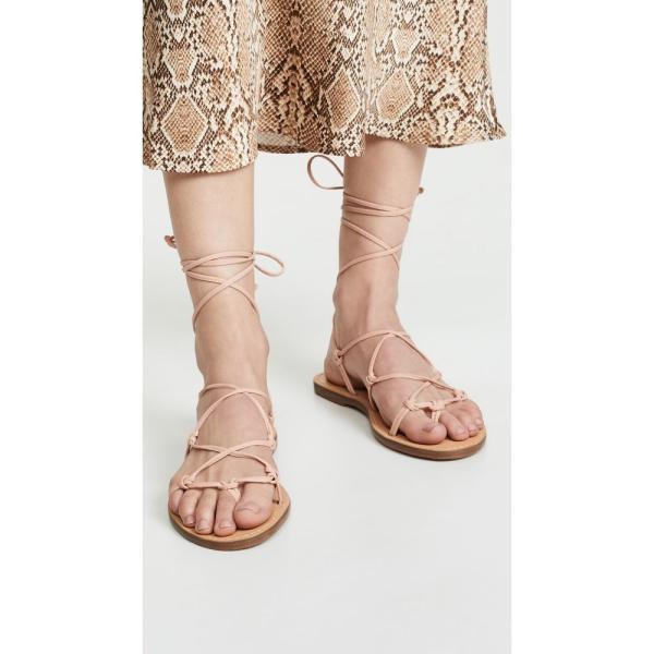 メイドウェル Madewell レディース サンダル・ミュール シューズ・靴 The Boardwalk Lace Up Sandals Peach|fermart|03