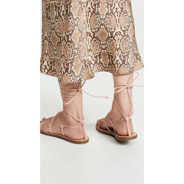 メイドウェル Madewell レディース サンダル・ミュール シューズ・靴 The Boardwalk Lace Up Sandals Peach|fermart|04