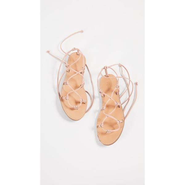 メイドウェル Madewell レディース サンダル・ミュール シューズ・靴 The Boardwalk Lace Up Sandals Peach|fermart|05