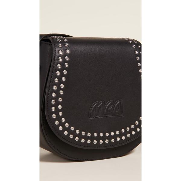アレキサンダー マックイーン McQ - Alexander McQueen レディース ハンドバッグ バッグ Mini Satchel Bag Black