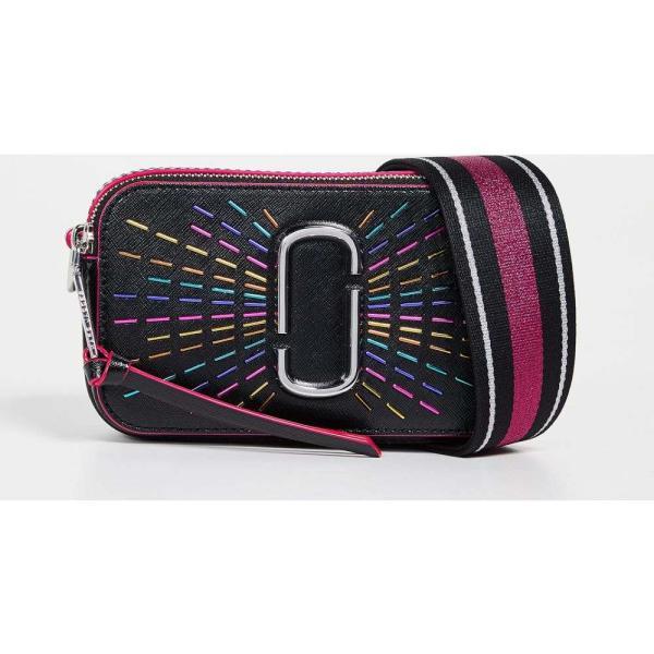 マーク ジェイコブス The Marc Jacobs レディース ショルダーバッグ カメラバッグ バッグ Snapshot Confetti Camera Bag Black Multi|fermart