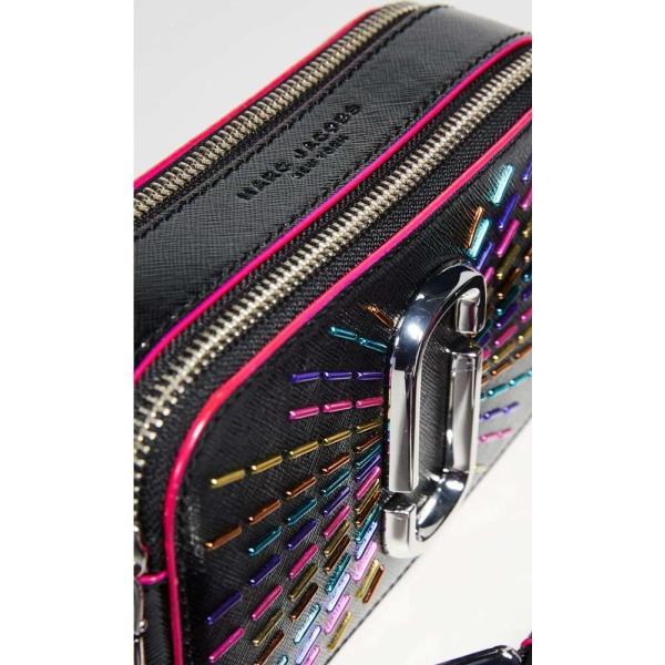 マーク ジェイコブス The Marc Jacobs レディース ショルダーバッグ カメラバッグ バッグ Snapshot Confetti Camera Bag Black Multi|fermart|04