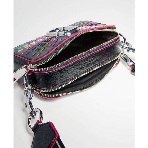 マーク ジェイコブス The Marc Jacobs レディース ショルダーバッグ カメラバッグ バッグ Snapshot Confetti Camera Bag Black Multi|fermart|05