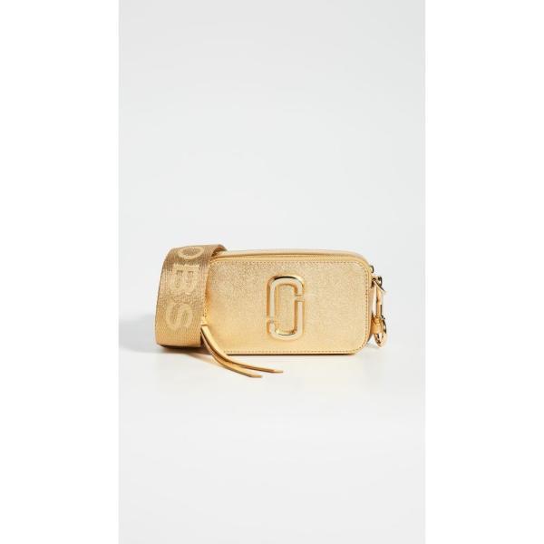 マーク ジェイコブス The Marc Jacobs レディース ショルダーバッグ カメラバッグ バッグ Snapshot DTM Metallic Camera Bag Gold|fermart