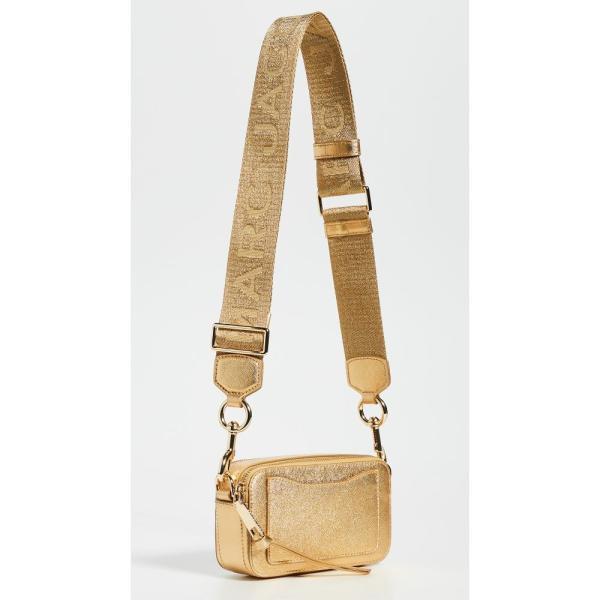 マーク ジェイコブス The Marc Jacobs レディース ショルダーバッグ カメラバッグ バッグ Snapshot DTM Metallic Camera Bag Gold|fermart|03