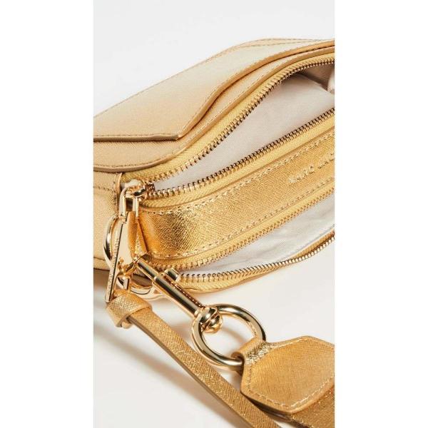 マーク ジェイコブス The Marc Jacobs レディース ショルダーバッグ カメラバッグ バッグ Snapshot DTM Metallic Camera Bag Gold|fermart|05