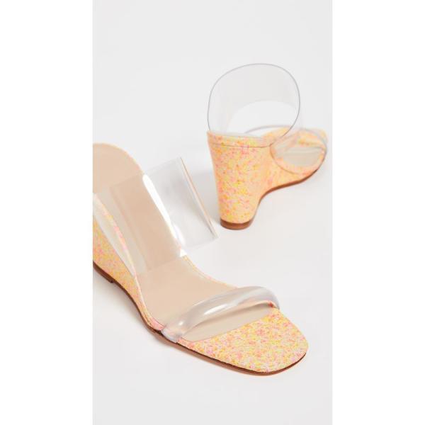 マリアム ナッシアー ザデー Maryam Nassir Zadeh レディース サンダル・ミュール シューズ・靴 Olympia Wedges Neon Mosaic