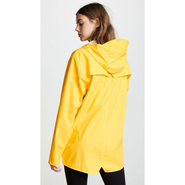 レインズ Rains レディース レインコート アウター Rain Jacket Yellow